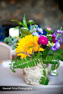 Take the Cake Events Rustic Sunflower Decor