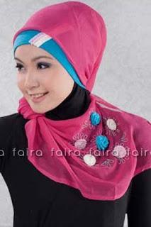 Model Trendi Jilbab Faira Terbaru 2014