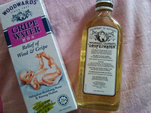 Fakta Ubat Gripe Water Penawar Kembang perut bayi Yang Anda Perlu Tahu