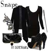 Snape Character Inspired Outfit by Disneybound