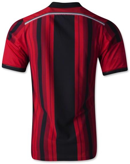 Jual Kaos Kostum Bola Ac Milan Musim Depan 2014 - 2015