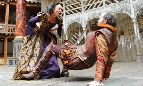 katherine and petruchio in shakespeares taming of the shrew (to tranio as lucentio) signior lucentio, this is the day appointed for  katherine and petruchio's wedding, but there's no sign of the groom what will  people.