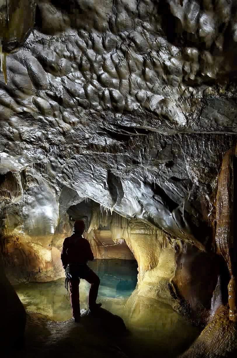 Lago Terminal de Cueva Agudín