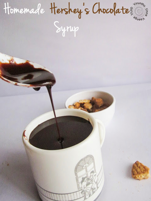 How To Thicken Hershey S Chocolate Syrup