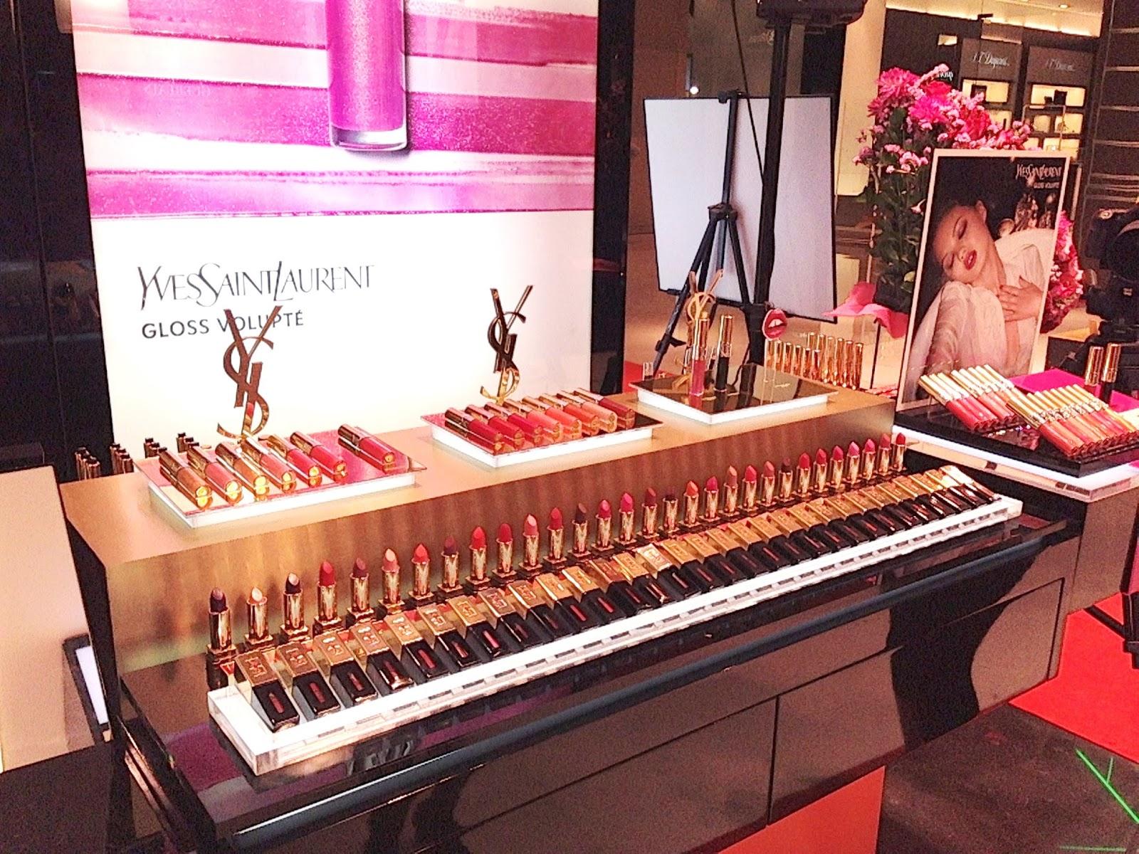 Morgan Make Up Artist Launching Event Ysl Gloss Volupte