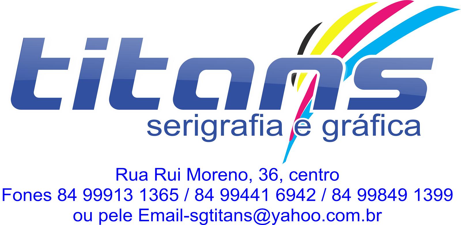 SERIGRAFIA E GRÁFICA TITANS