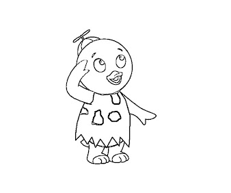 #7 Pablo Coloring Page