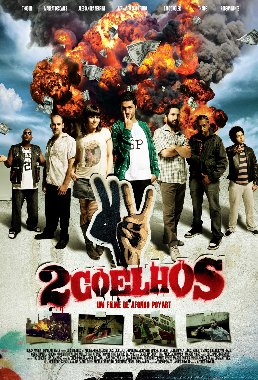 Download   2 Coelhos – DvdRip   Nacional