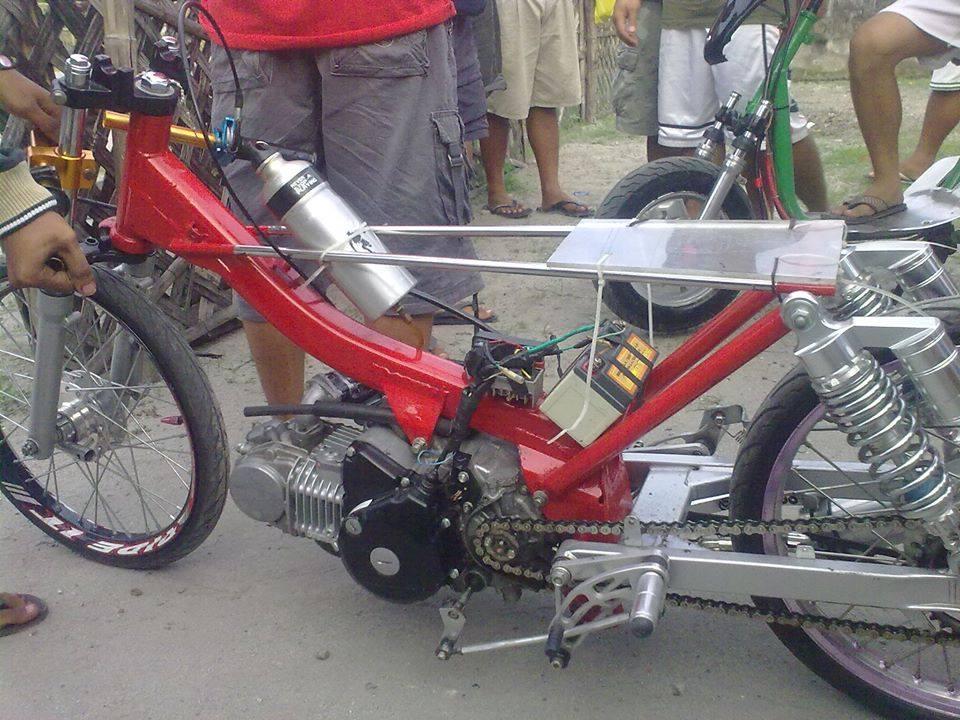 Gambar Modifikasi Motor Drag Keren Karya Anak Bangsa Indonesia