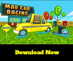 Play the maddest of the Mad - this Mad Car Racing Game !