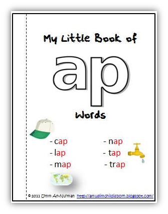 ap word family worksheets pdf