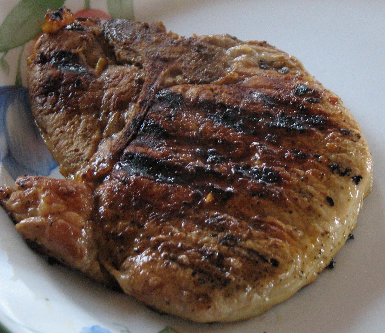 LAKENVELDER FOOD BLOG: Marinated Orange Pork Chops- DASH Diet