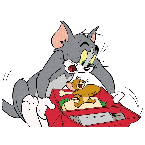 Tom N Jerry Cartoon Characters : Cartoon characters tom and jerry clipart