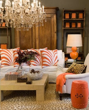 eye for design decorating with orange it 39 s a great