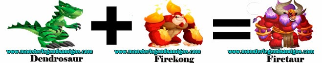 como obtener el monster firetaur en monster legends formula 3