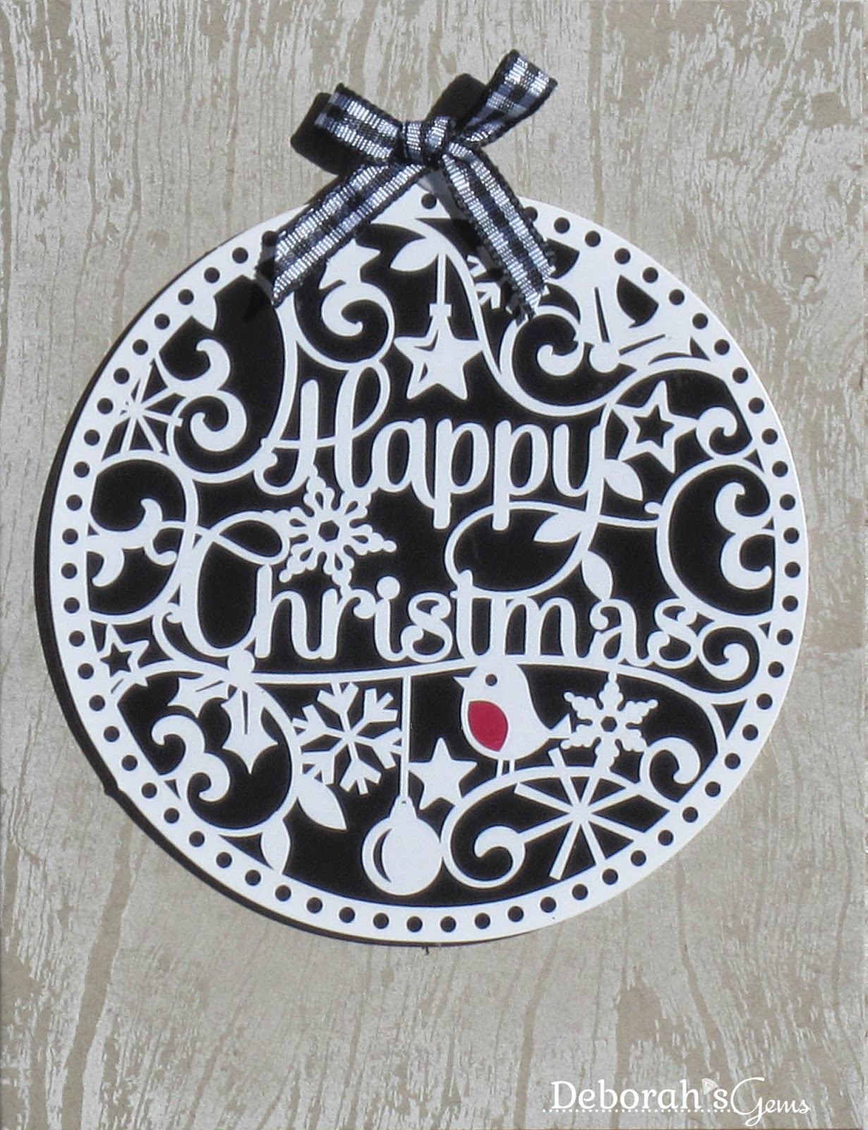 Happy Christmas - photo by Deborah Frings - Deborah's Gems