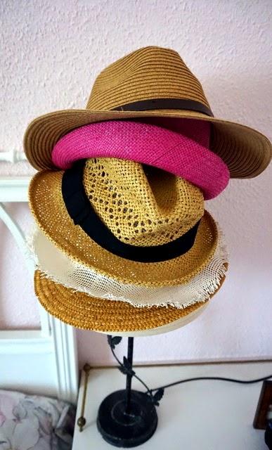 ordenar sombreros