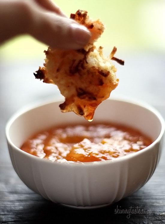 Splinters & Threads musings: Mmm Skinny Coconut Shrimp