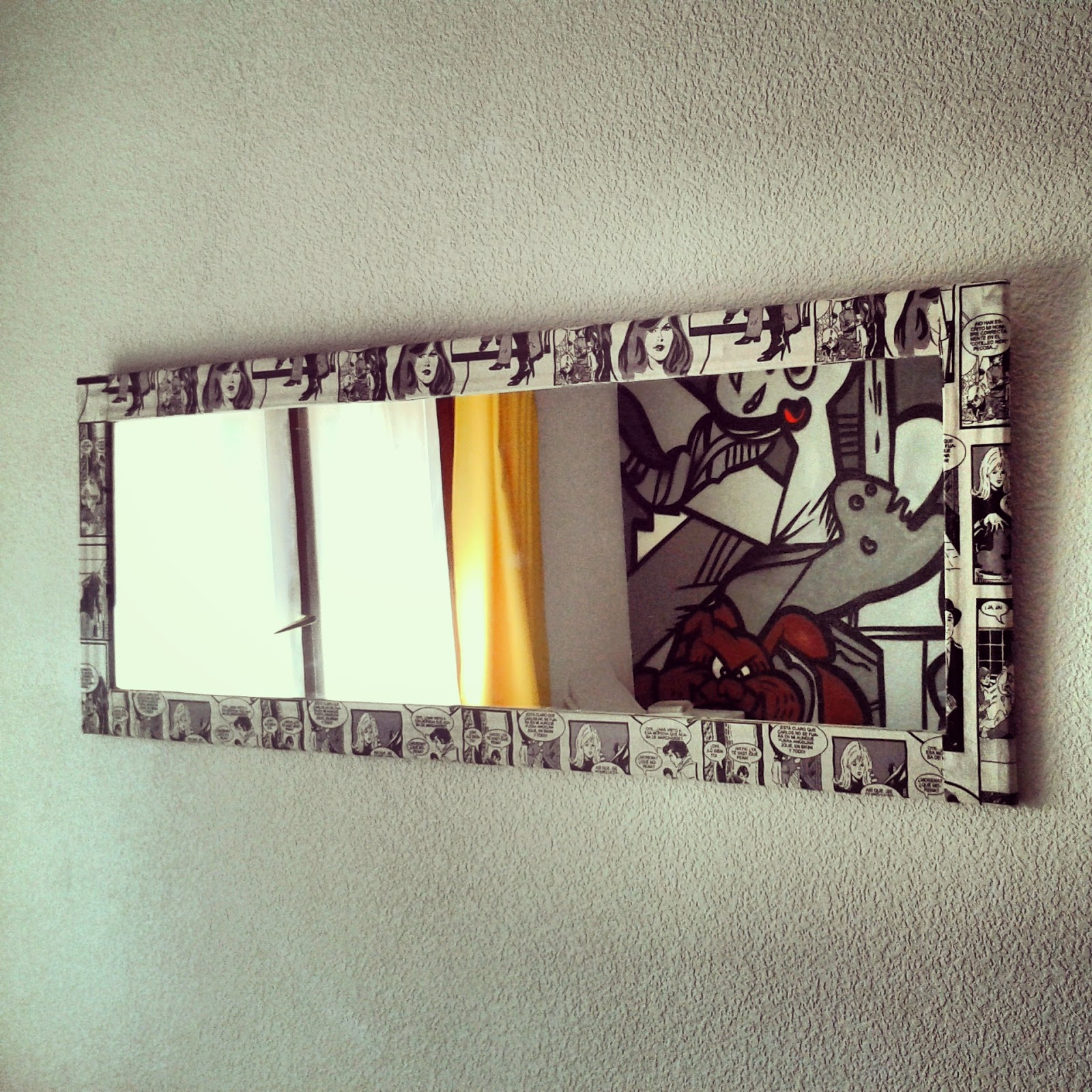 Restaurange espejo reciclado for Reciclar armario ropero