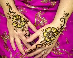 Colorful Mehandi Design