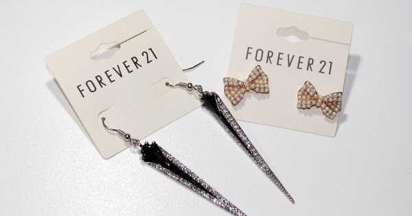 Beautyredefined by pang new forever 21 earrings for Forever 21 jewelry earrings