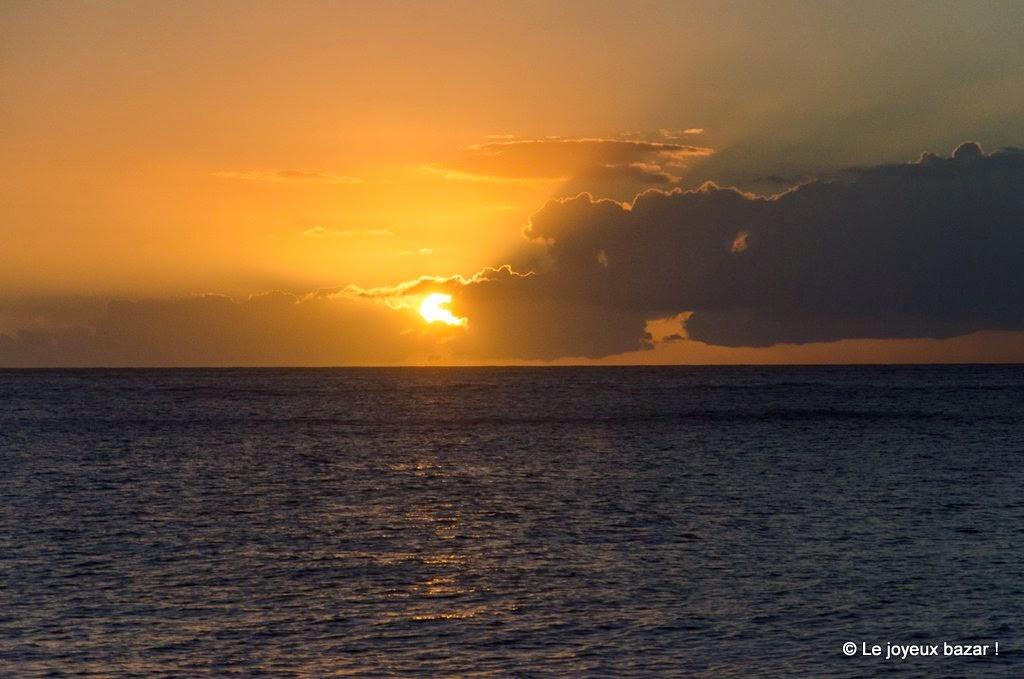 Guadeloupe - Deshaies - coucher de soleil