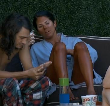 Big Brother 15 Amanda's Spray Tan