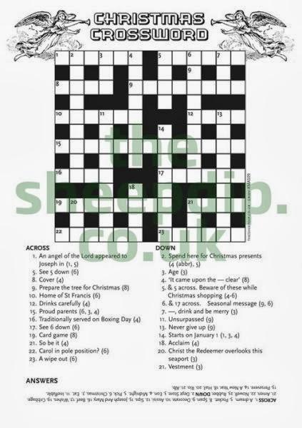 christmas crosswords for kids 3 christmas crosswords for kids 4