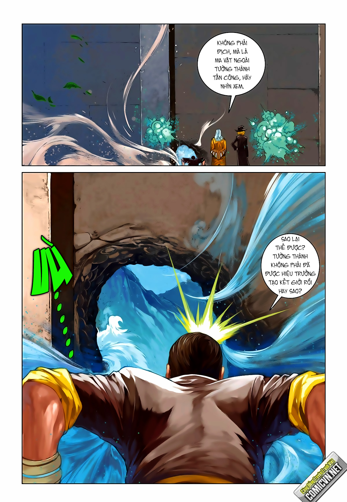 xem truyen moi - BRON OF BRAVE (Tái Tạo Không Gian) - Chapter 13: Xâm nhập