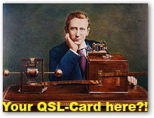 Your QSL-Card here ?!