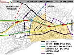 Propuesta de Ordenamiento vial en Barranco (Set 2011)