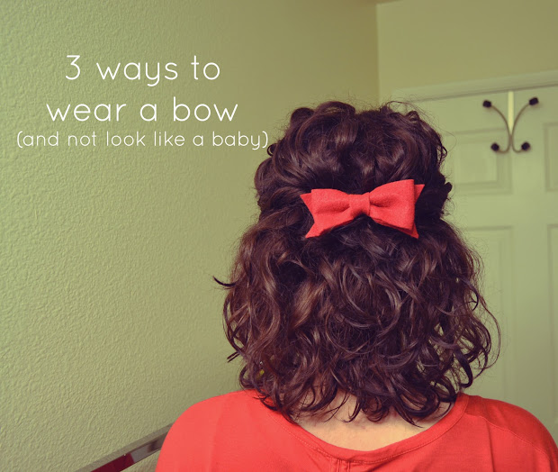 3 ways wear hair bow