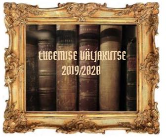 Lugemise väljakutse 2019/2020