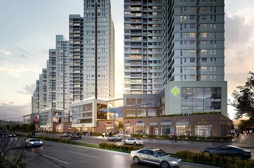 The Sun Avenue theo phong cách tiêu chuẩn Singapore