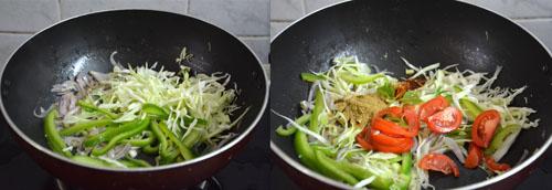how to make egg vegetable roll