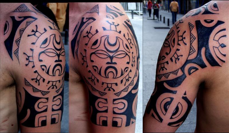 Maori War Tattoo