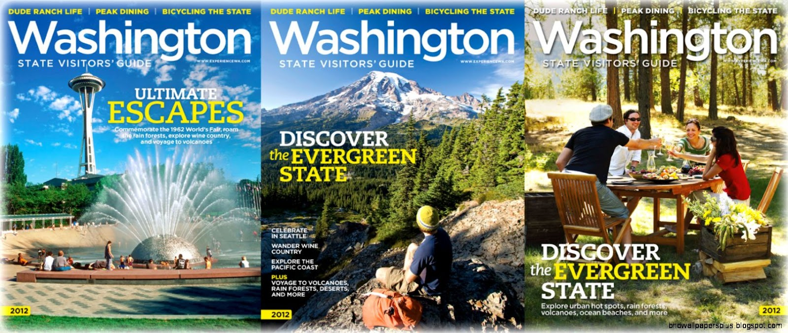 Washington State Visitors Guide  Ground breaking Partnership