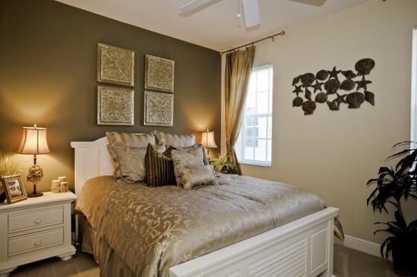 C mo decorar un cuarto dormitorios con estilo - Pintura para habitacion de matrimonio ...
