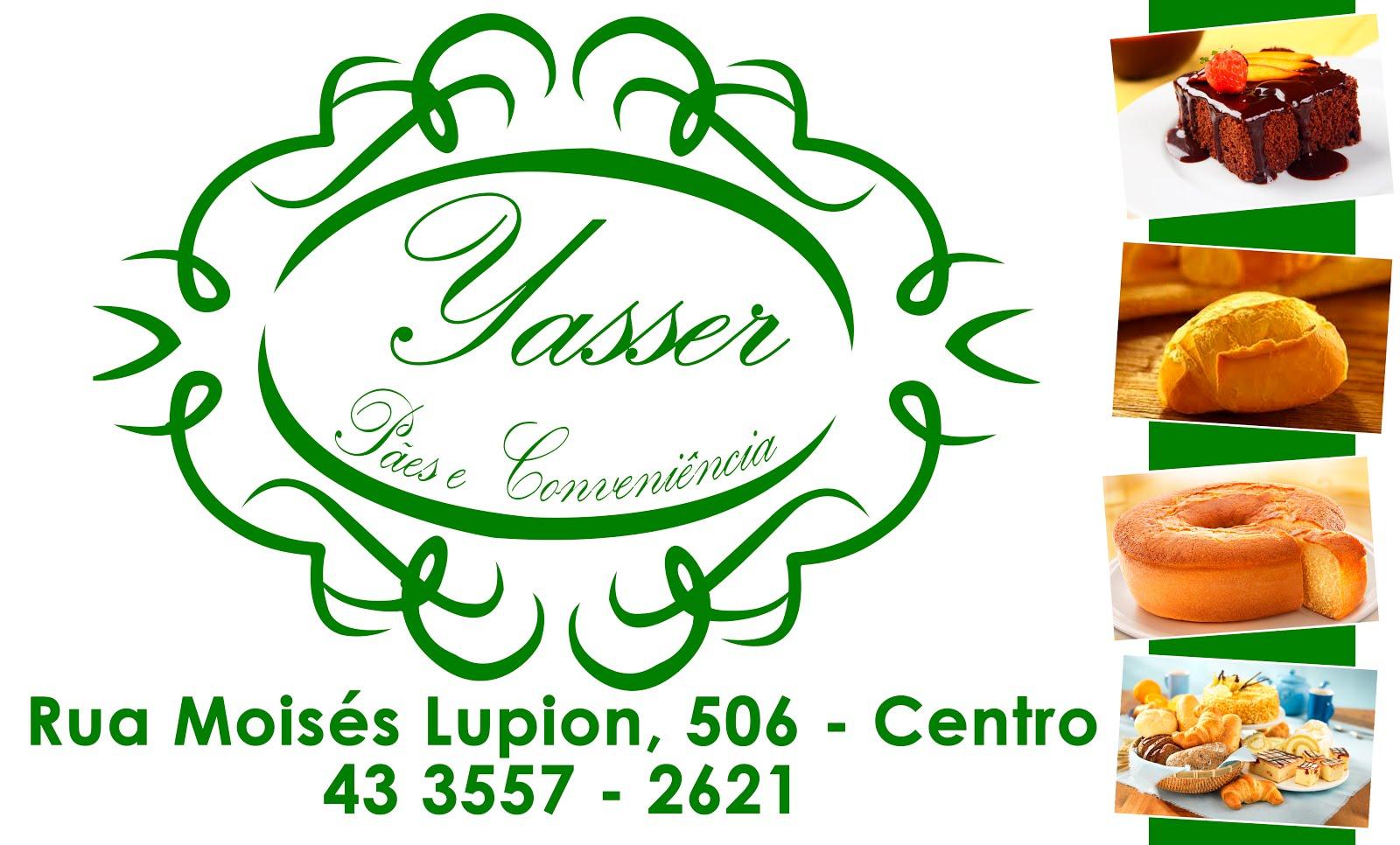 YASSER - PÃES E CONVENIÊNCIAS.