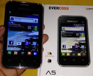 Ponsel Cross A5 atau Evercoss A5