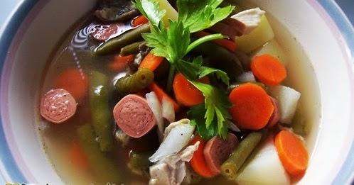 Resep Membuat Sup Sosis Ayam