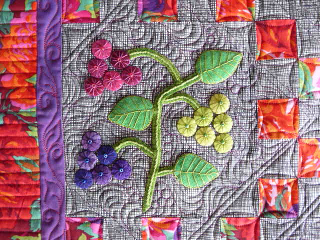 Sewing & Quilt Gallery: Wonderful Wool Applique Quilt : quilting with wool - Adamdwight.com
