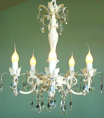 Anyone can decorate crystal chandelier prisms my source great prices the variety of crystal prisms shown on all of these different light fixtures were all purchased from one same source i will share my source with all of you aloadofball Gallery