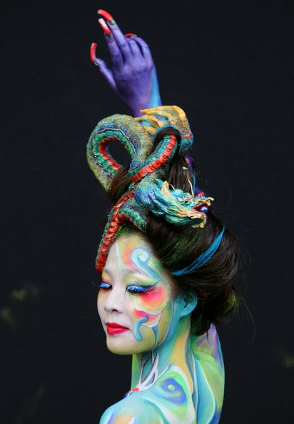 Body painted images 3