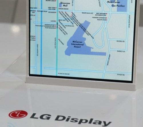 solamente 1 mm di spessore per il bordo del display Oxide la nuova tecnologia di Lg