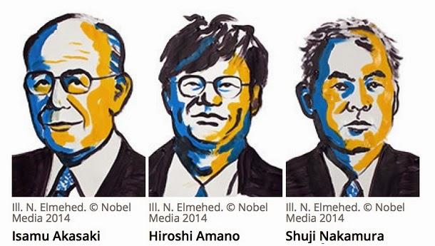 Prêmio Nobel de Física atribuída a invenção do LED azul