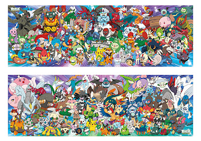 Pokemon Jigsaw Puzzle 432 pcs Ensky