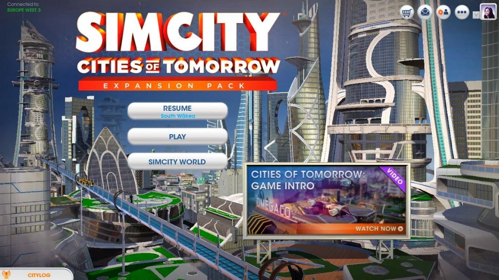 SimCity : Cities of Tomorrow