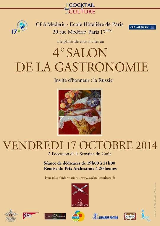 http://www.cocktailetculture.fr/4eme-salon-de-la-gastronomie-le-17-octobre-2014-de-19h-a-21h-au-cfa-mederic/