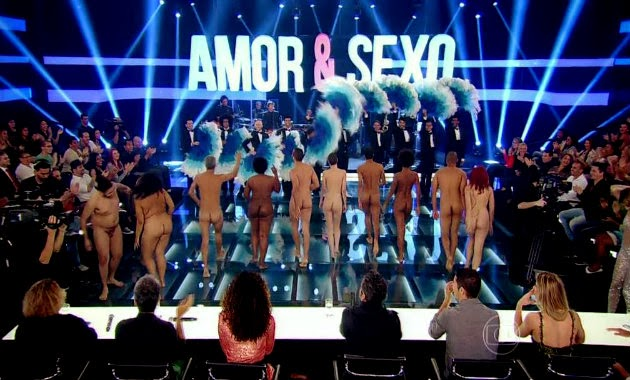 Amor E Seo Volta Ao Ar Eibe Nu Frontal Na Tv